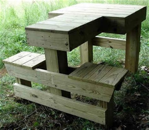 permanent shooting bench plans shooting bench plans prepper days