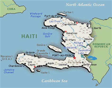 country of haiti map backgrounder basic facts about haiti china org cn