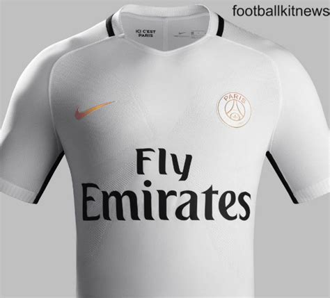Jersey Psg Home 2016 2017 white psg third kit 16 17 germain nike 3rd