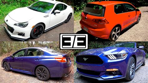 Subaru Wrx Vs Ford Mustang Vs Vw Gti Vs Scion Frs Subaru Brz