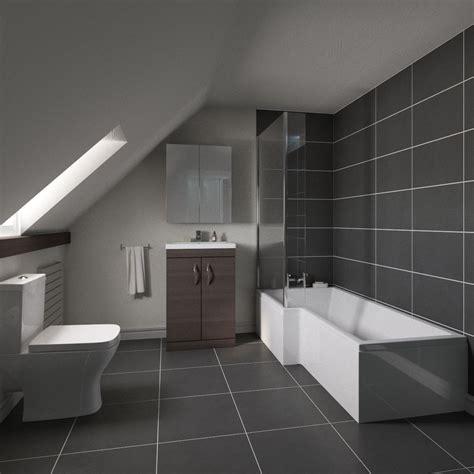 Modern Complete Bathroom Suite Own Brand Obpack200 Furniture Bathroom Suites