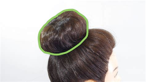 how to cut off a bun steps with images how to do a sock bun 7 steps with pictures wikihow