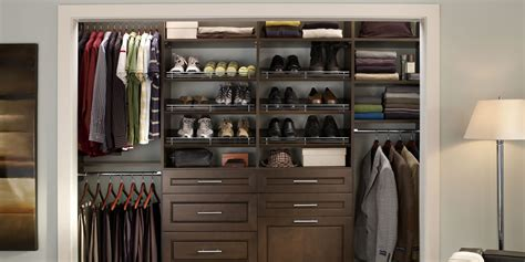 affordable wood closet shelving for simple organize home