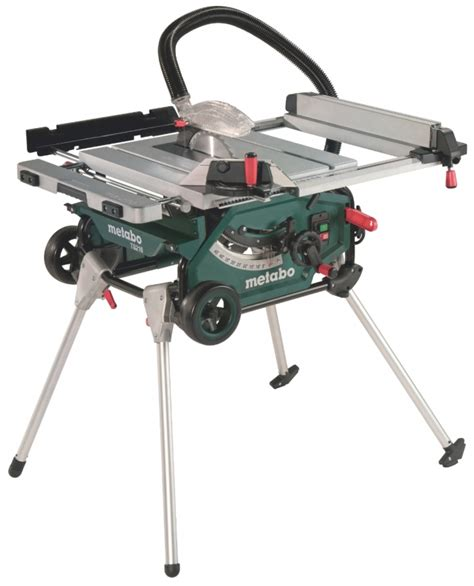 Steting 1500 Watt metabo ts 216 set tafelcirkelzaag 1500 watt 216 x 30 mm onderstel toolsxl