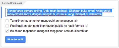 cara membuat kuesioner melalui google form cara membuat formulir pendaftaran online via google form
