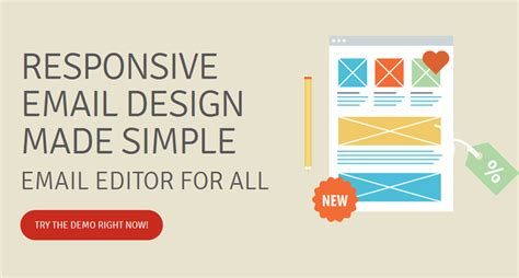responsive web design wysiwyg editor edmdesigner responsive html email template builder