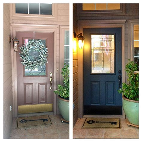 diy exterior door the happy homebodies diy front door makeover