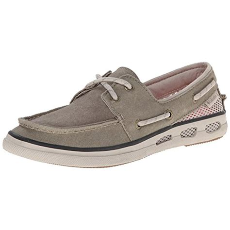 columbia boat shoes womens columbia 9544 womens canvas moc toe boat shoes bhfo