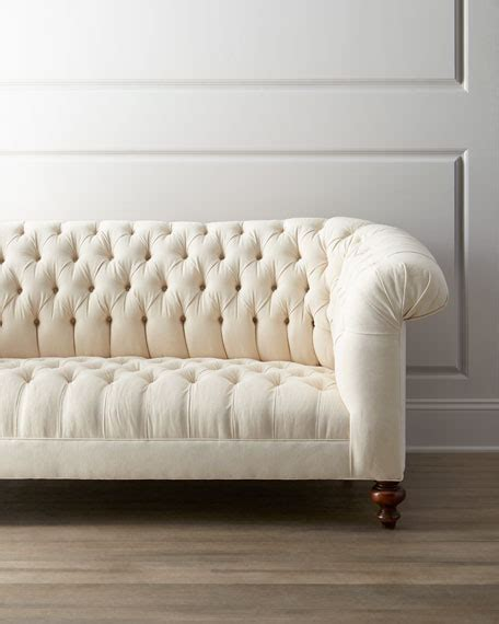 dusk tufted sofa neiman hickory tannery quot ellsworth quot tufted sofa