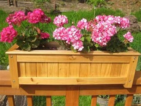 Deck Railing Planter Boxes Along Fence New Decoration Deck Rail Planter Boxes