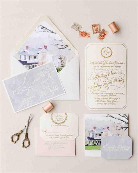 painted wedding invitations martha stewart 1000 ideas about watercolor wedding invitations on