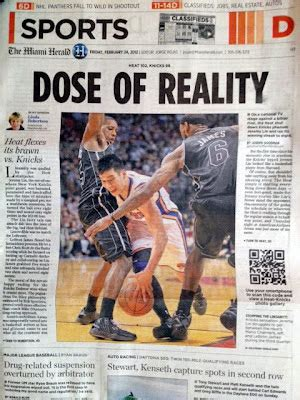 A Dose Of Reality 2 by Al Diaz Photo Dose Of Reality For Linsanity