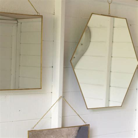 brass mirror assorted shapes by idyll home brass mirror assorted shapes by idyll home