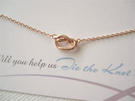 Simple Handmade Jewelry - tiny gold knot necklace simple handmade jewelry