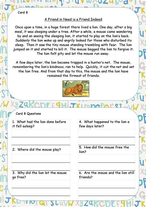 new year 2015 comprehension ks2 ks1 ks2 sen ipc reading comprehension cards guided