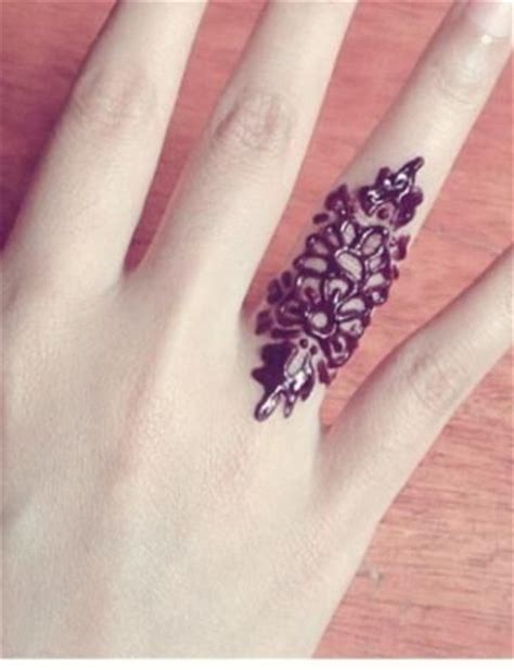 henna tattoo rings 17 best images about henna on beautiful mehndi