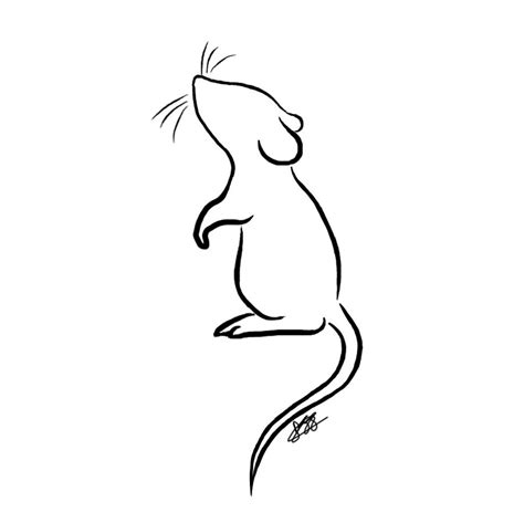 simple rat tattoo mouse t shirt design by pippy1994 on deviantart