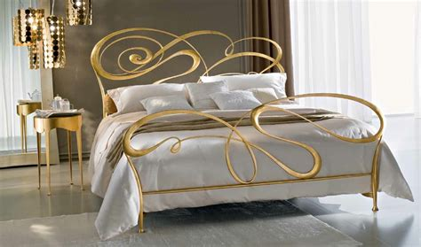 gold bed ciacci fly metal bed italian gold leaf amazingbed