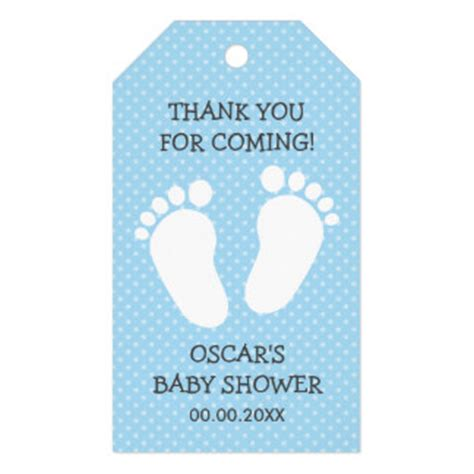thank you tag templates for baby shower baby shower tags baby shower favor tags zazzle