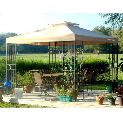 bond manufacturing 10x10 y99051t gazebo replacement canopy