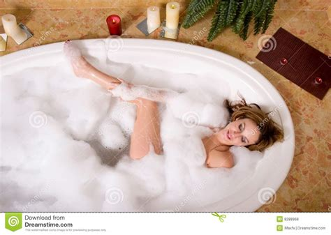 sexy in bathtub woman taking bubble bath royalty free stock photos image 8288968
