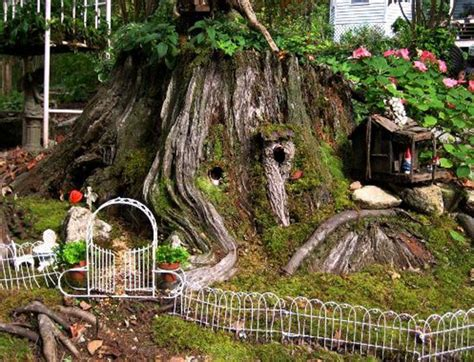 Soil Mix For Container Gardening - an old stump little babylon fairy gardens