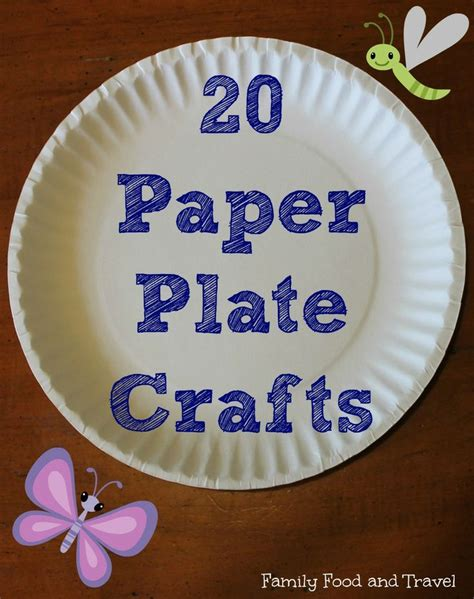 crafts to do with paper plates 20 paper plate crafts