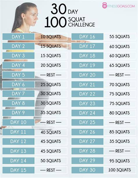 best 30 day squat challenge 30 day squat challenge see before after results