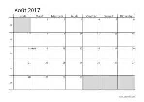 Calendrier Aout 2017 Imprimer Calendrier 2017 Gratuitement Pdf Xls Et Jpg