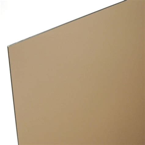 Acrylic Mc 48 in x 96 in x 1 8 in bronze acrylic sheet mc 101