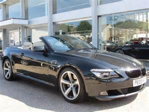 6 Series Bmw For Sale Used Bmw 6 Series Convertible For Sale Uk Autopazar