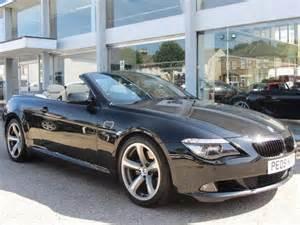 Used 6 Series Bmw Used Black Bmw 6 Series 2009 Diesel 635d Sport 2dr