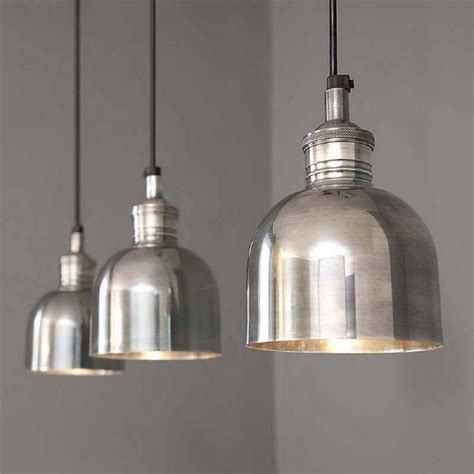 Pendant Lighting For Kitchen Finds Tarnished Silver Pendant Light Homegirl