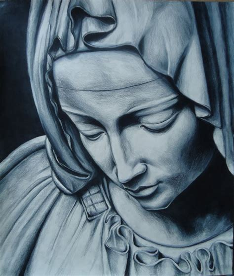 pieta blessed virgin by jeremyosborne