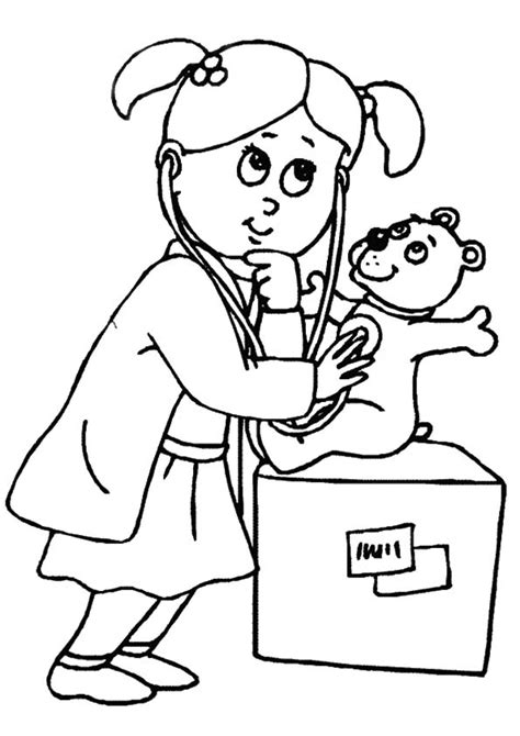 coloring pages for elementary students doctor coloring pages for kids and elementary school