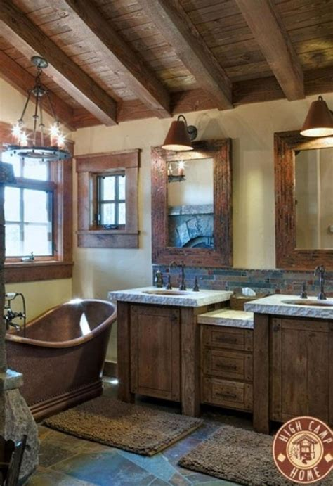 best 25 rustic bathrooms ideas on rustic house decor cabin bathroom decor and diy
