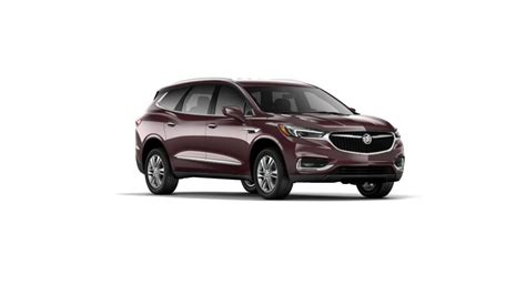 lance buick gmc mansfield ma black cherry metallic 2018 buick enclave essence awd for