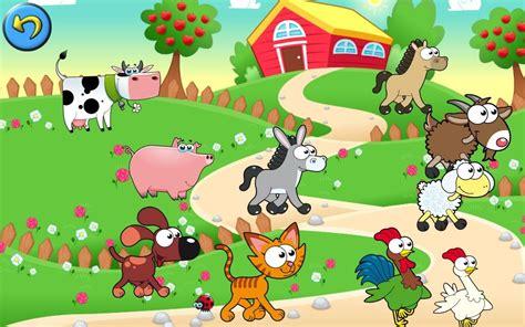 Farmyard Wall Stickers dibujos animados de granjas de animales dibujos para