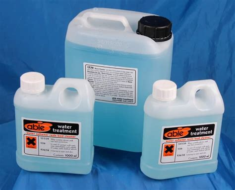 resin bed cleaner steam boiler chemicals boiler treatment ion exchange