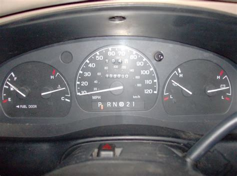 car engine manuals 1996 ford explorer instrument cluster 1998 ranger with manual instrument panel looks like it belongs to automatic fordranger