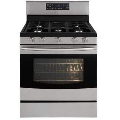 samsung 5 8 cu ft gas range with self cleaning