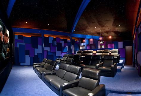 Design Modern Home Theater Modern Home Theater