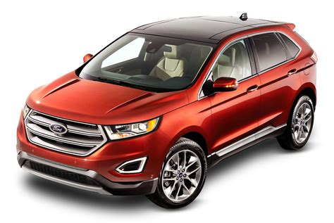 ford car png ford edge red car png image pngpix