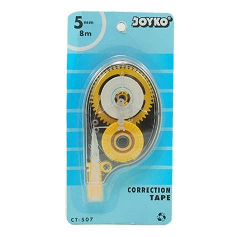 Pen Paper Joyko Klip Kertas C 3100 joyko correction ct507