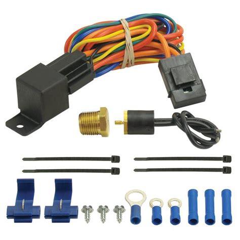 universal electric fans wiring kits free wiring