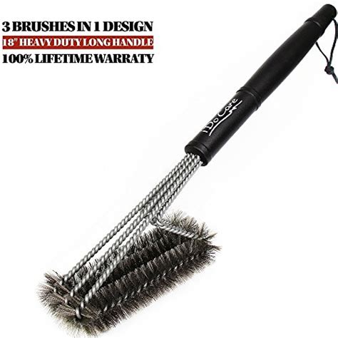 18 Inch Bbq Grill Brush Intl learn more about idocare bbq grill brush 18 3
