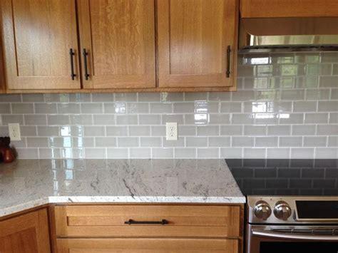 gray glass subway tile backsplash kitchens pinterest photo img 2399 zps68a3e642 jpg river white granite allen