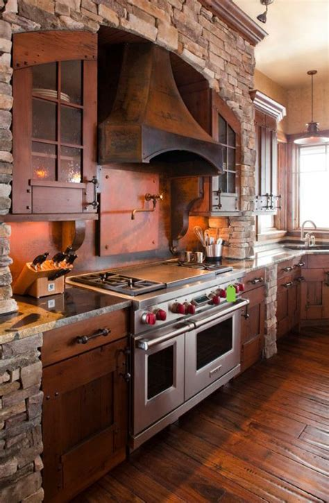 rustic kitchen furniture 298 best images about rustic kitchens on pinterest