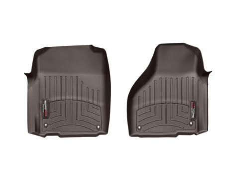 weathertech floor mats floorliner for dodge ram 1500 2012 2017 cocoa ebay