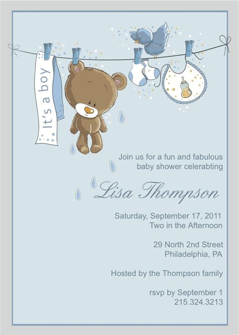 top 10 baby shower boy invites theruntime